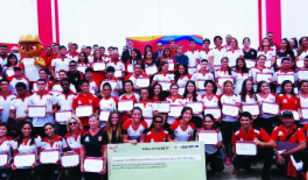 Participaron en los Juegos Bolivarianos Santa Marta 2017