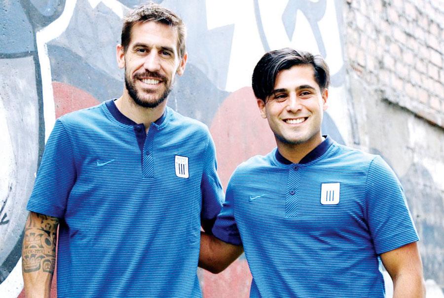 Maximiliano Lemos y Tomás Costa