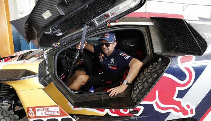 Francés Nicolás Fuchs lidera el Dakar 2018