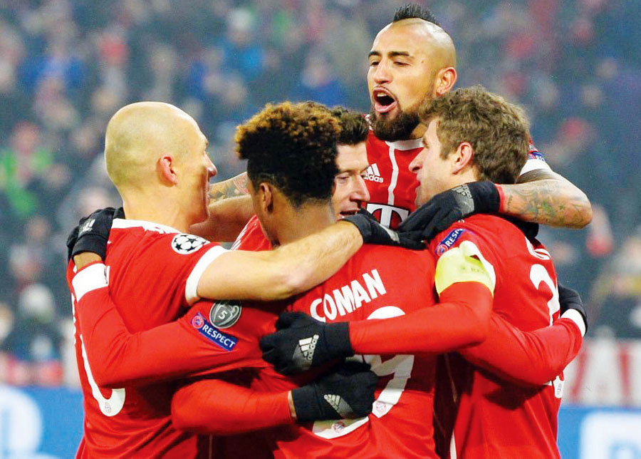 Bayern Múnich vs Besiktas
