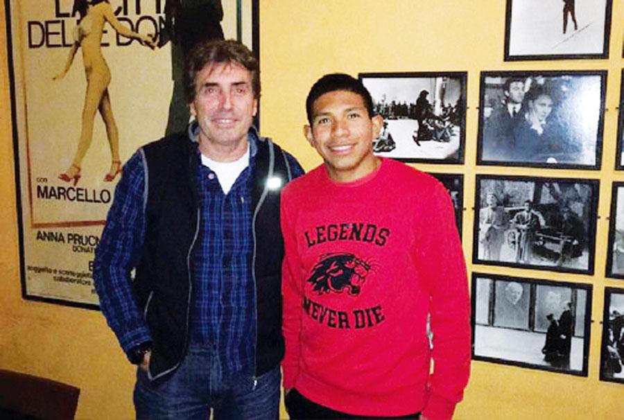 Edison Flores y Néstor Bonillo