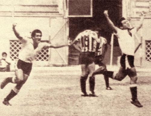 Gol del 'Chueco' ante Huaral