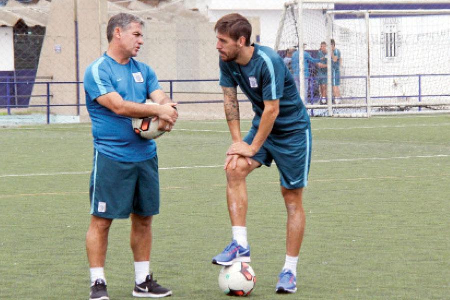 Pablo Bengoechea entrenador de Alainza Lima