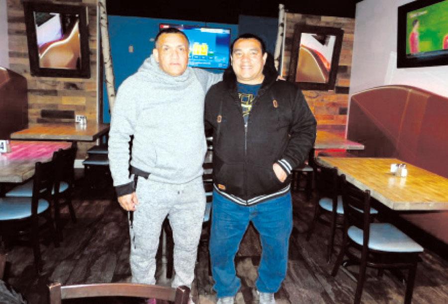 Víctor Hurtado y Héctor 'Chueco' La Torre