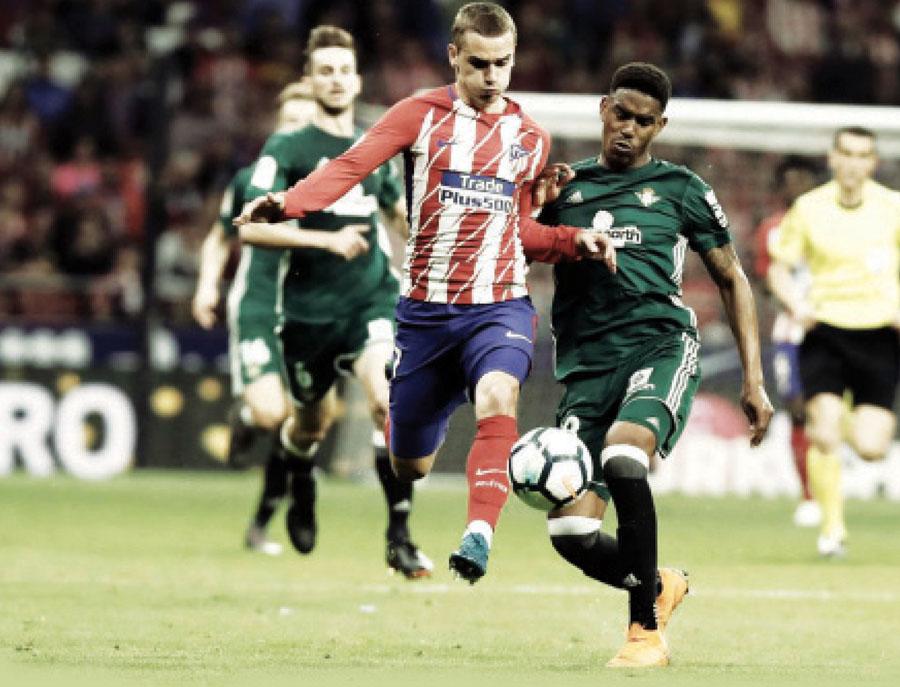 Atlético de Madrid empato 0-0 con el Betis