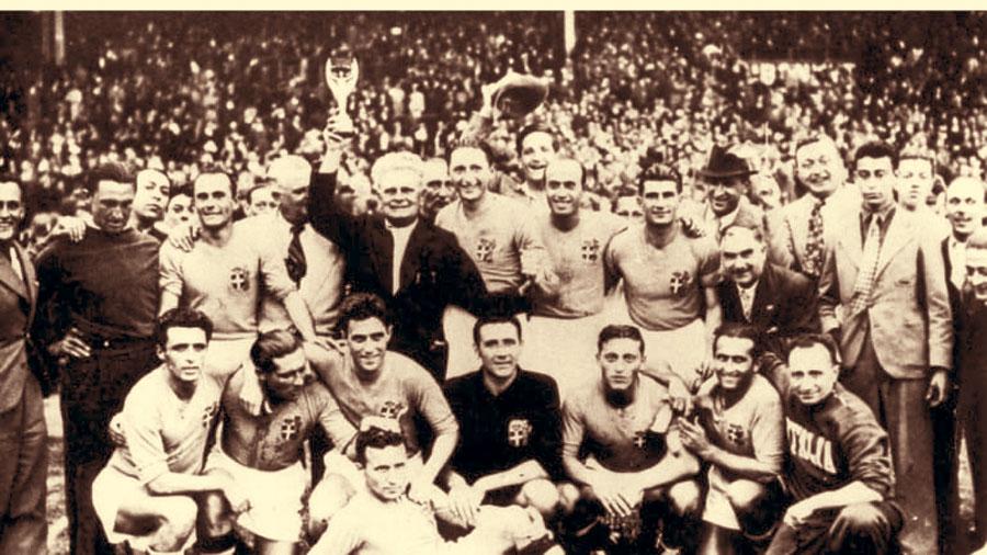 Italia campeón - Francia 1938