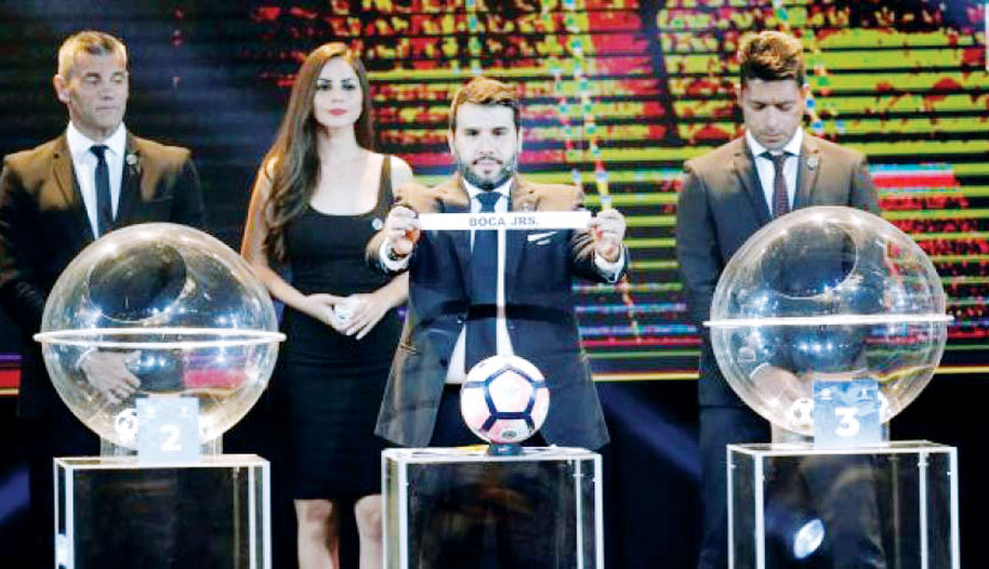 sorteo de octavos de Libertadores y Sudamericana