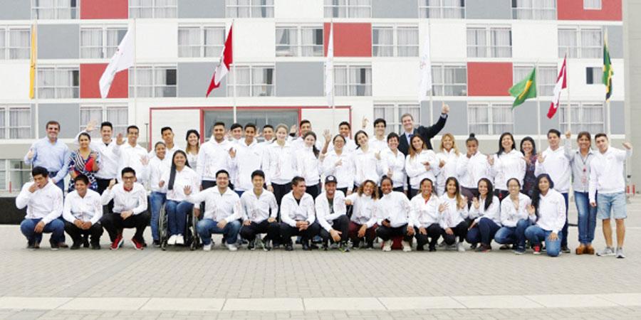 Atletas que integran el Top Perú