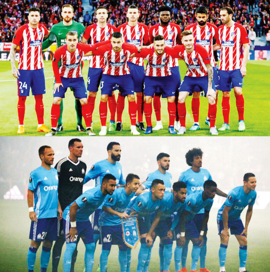 Atlético de Madrid vs Marsella