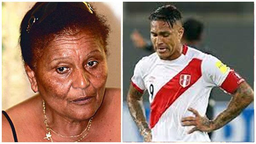 Doña Peta y Paolo Guerrero