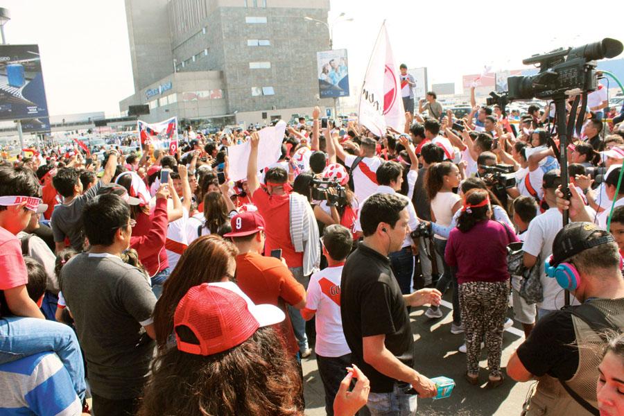 El Perú se levantó