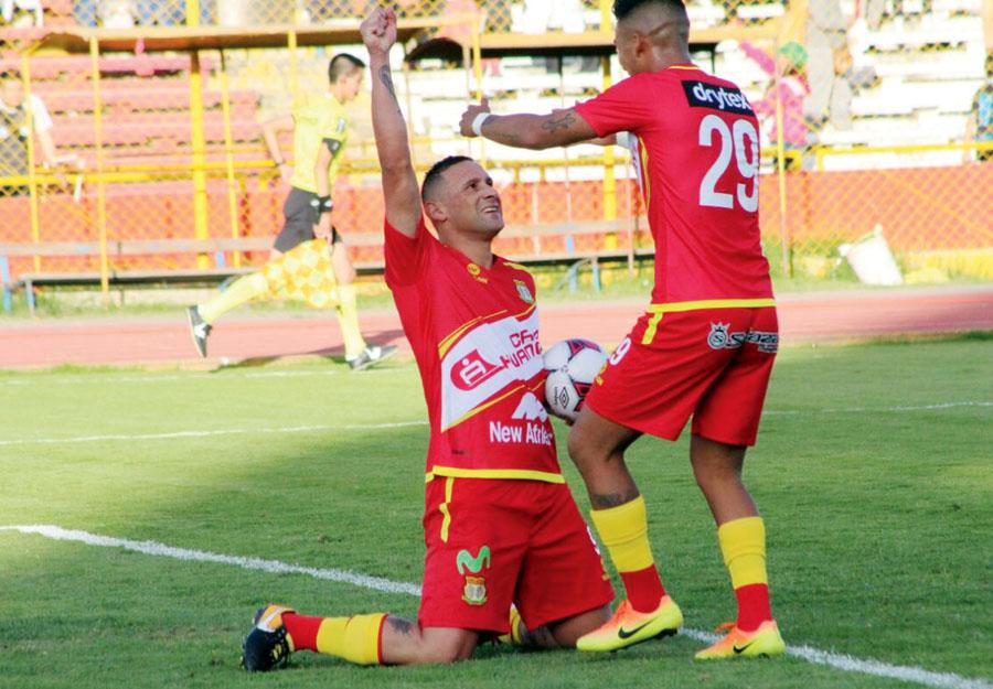 Grioni lo tuvo a Neumann en el Garcilaso y ahora es su goleador en Sport Huancayo