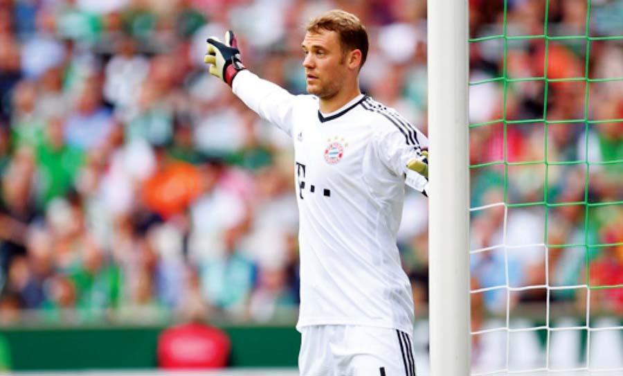 Manuel Neuer, seleccion alemana