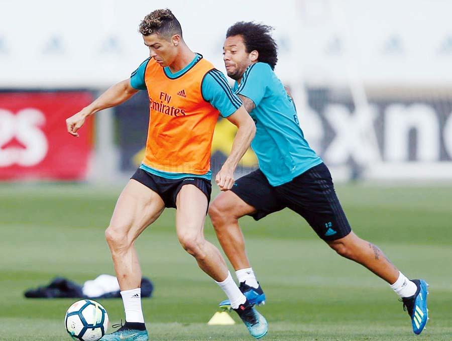 Real Madrid reanudó sus entrenamientos pensando en la final de la Champions League