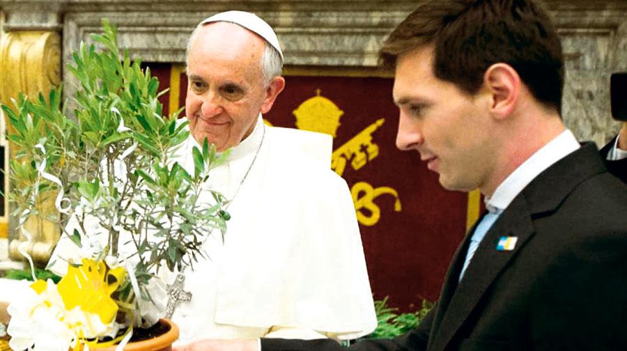 Selección albiceleste visitará al Papa antes de llegar al mundial