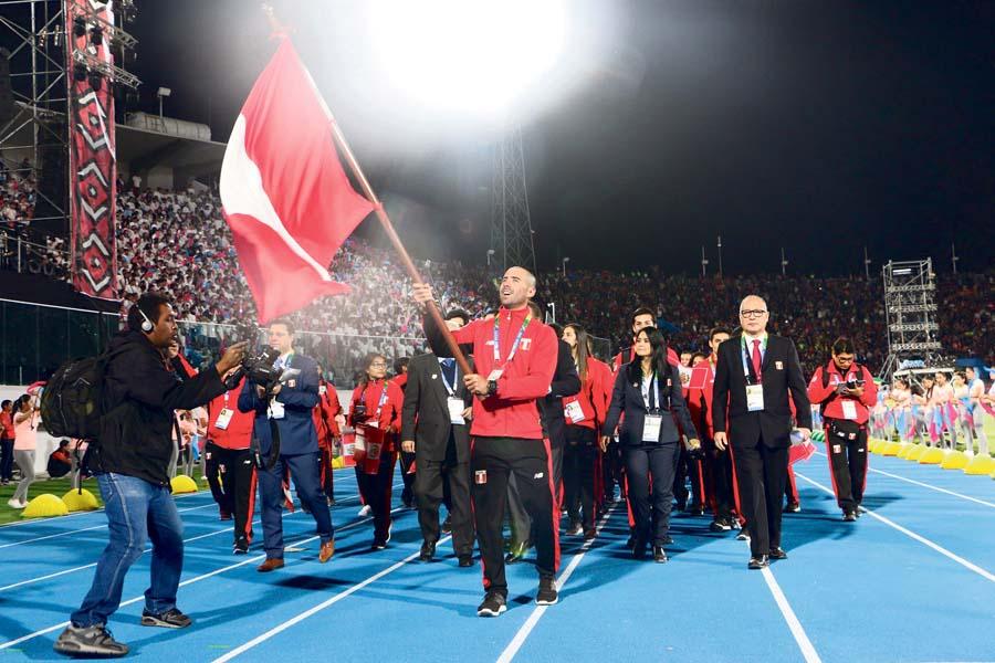 Team Perú en XI Juegos Suramericanos Cochabamba 2018