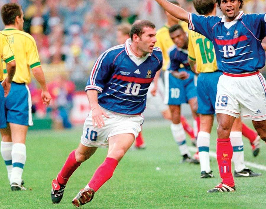 Zidane fue la estrella de Francia y el mejor jugador del campeonato mundial