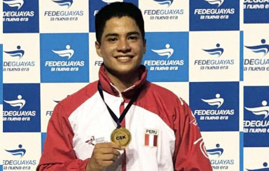 karateca Mariano Wong