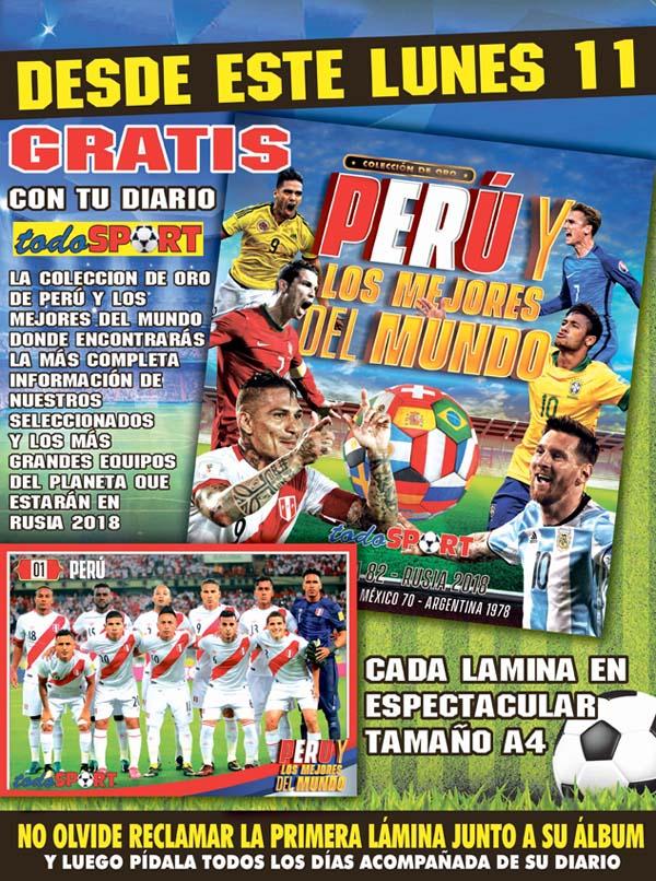 Álbum Perú y los mejores del mundo
