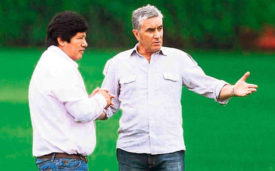 Edwin Oviedo y Juan Carlos Oblitas