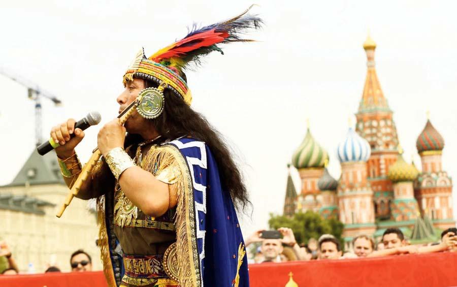Incas conquistan Rusia