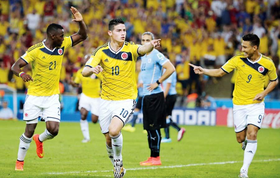 James Rodríguez fue el goleador de la Copa del Mundo.