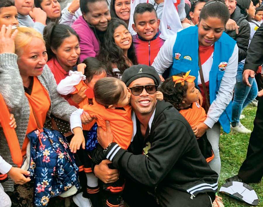 Ronaldinho en el Callao