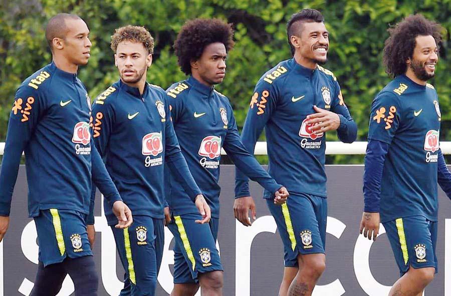 Seleccion brasilera