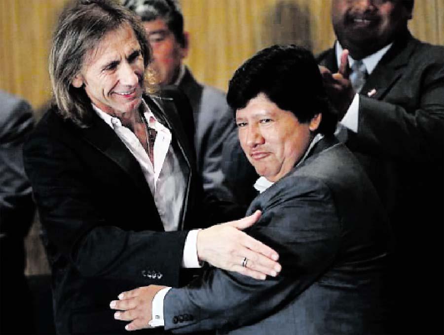 Audios sobre el presidente de la FPF, Edwin Oviedo, juegan en contra
