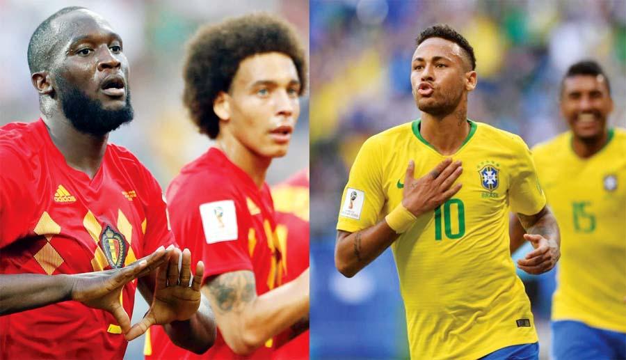 Belgica vs Brasil