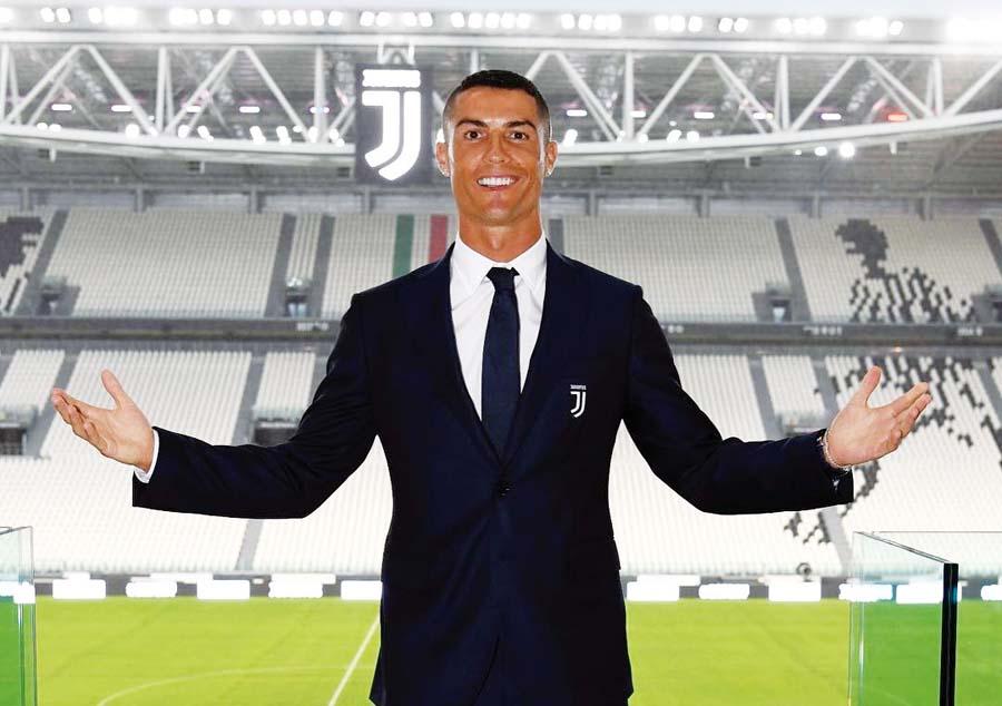 Cristiano Ronaldo a sus 33 años hizo que la Juventus rompa el 'chanchito'