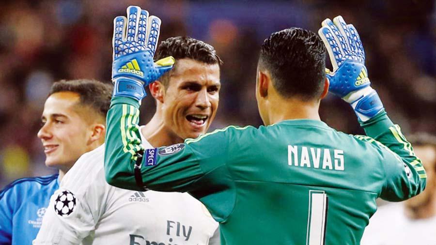 Cristiano Ronaldo habría pedido a Keylor Navas