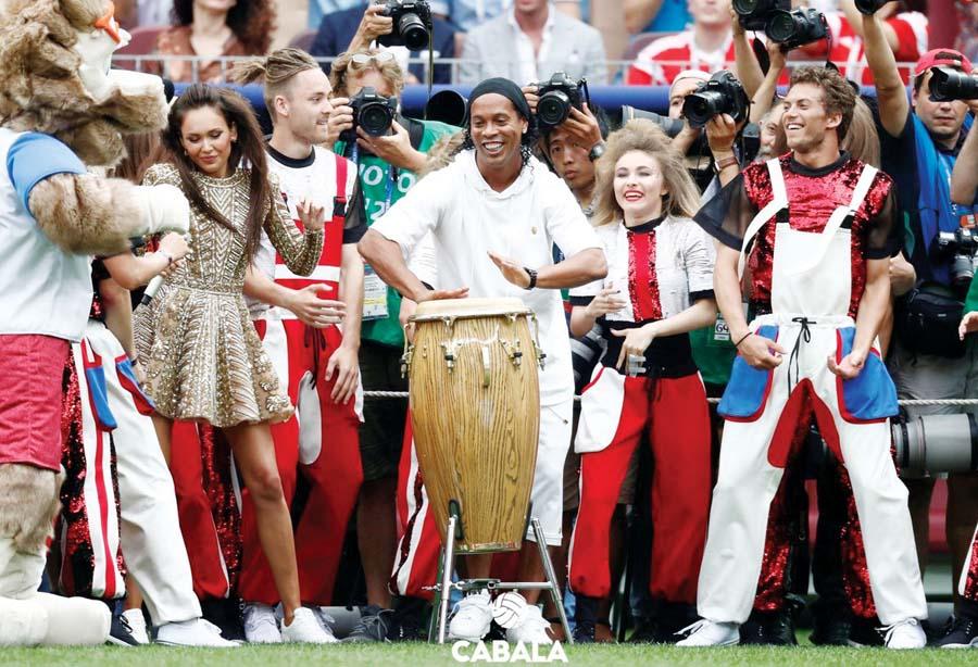 El brasileño Ronaldinho