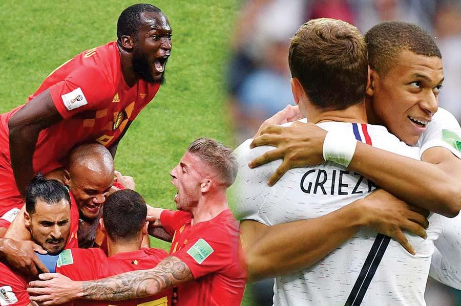 Francia y Bélgica