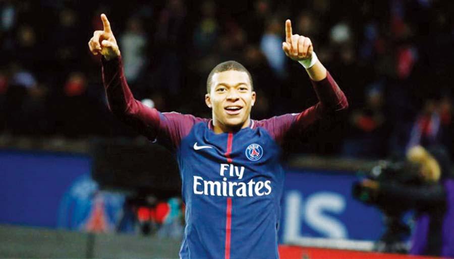 La joven estrella francesa Kylian Mbappé fue otro caprichito del PSG que se lo arrebató al Mónaco