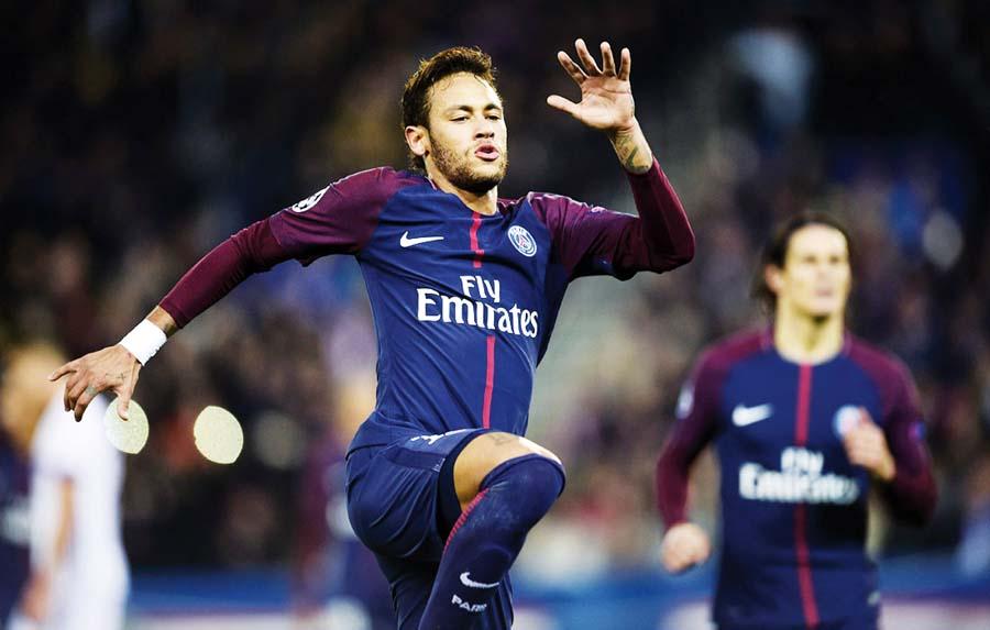 Neymar le costó una millonada a los dueños árabes del PSG de Francia