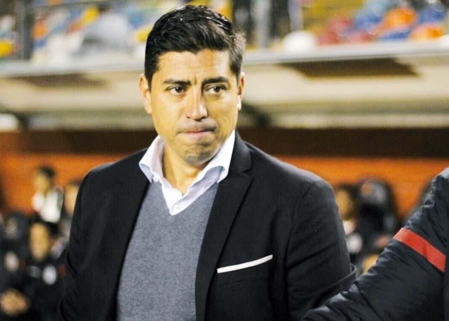 Técnico de la 'U', Nicolás Córdova