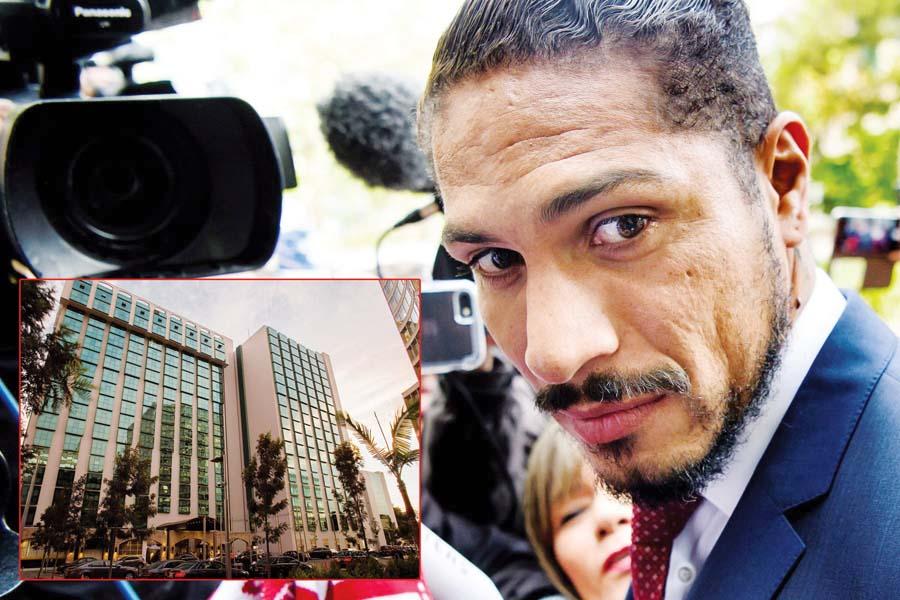 Paolo Guerrero demanda penal contra el Swissotel