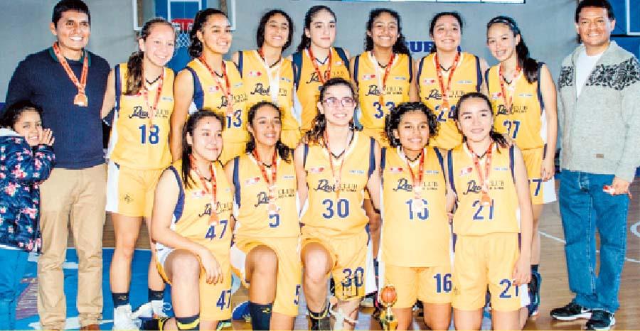 Real Club ganó la Liga de Básket de Lima