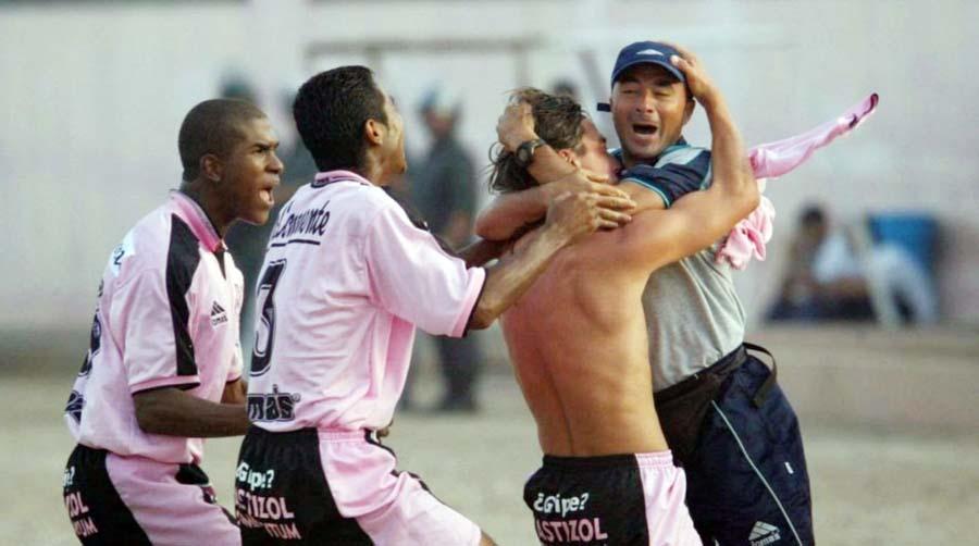 Sampaoli fue uno de los buenos técnicos que dirigió a la escuadra rosada