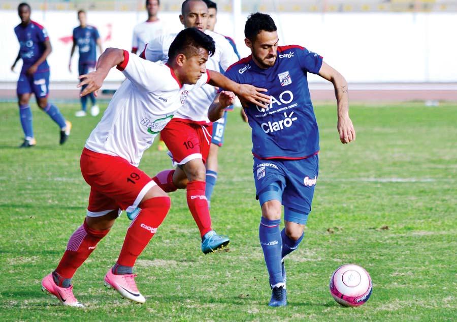 Unión Huaral venció en a Carlos A. Mannucci