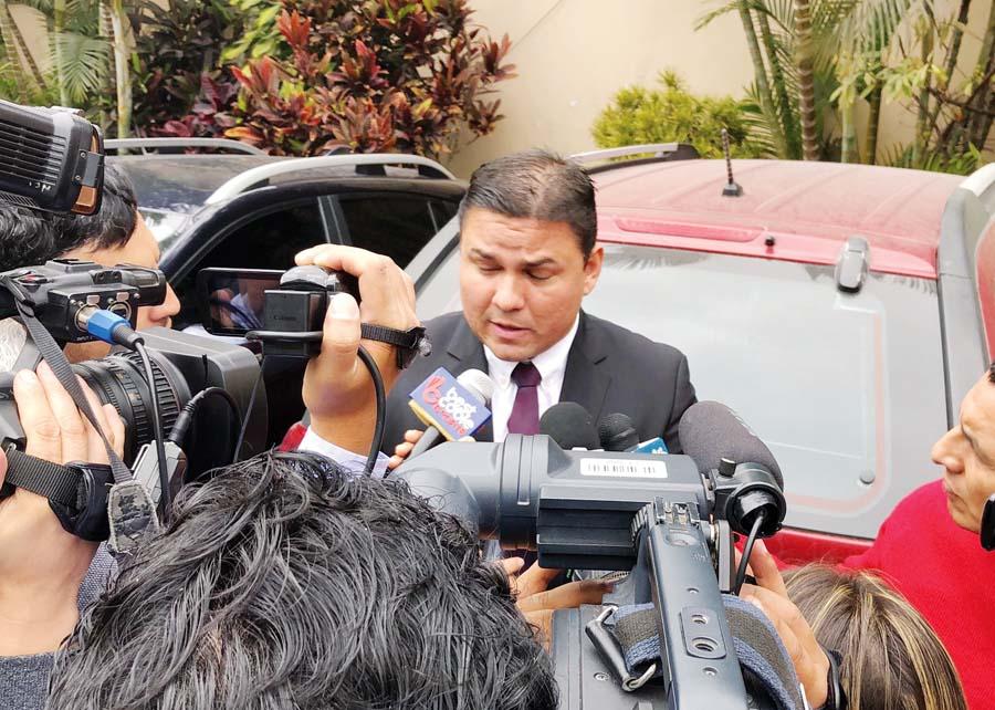 presidente de la ADFP de la Segunda división Sergio Ludeña