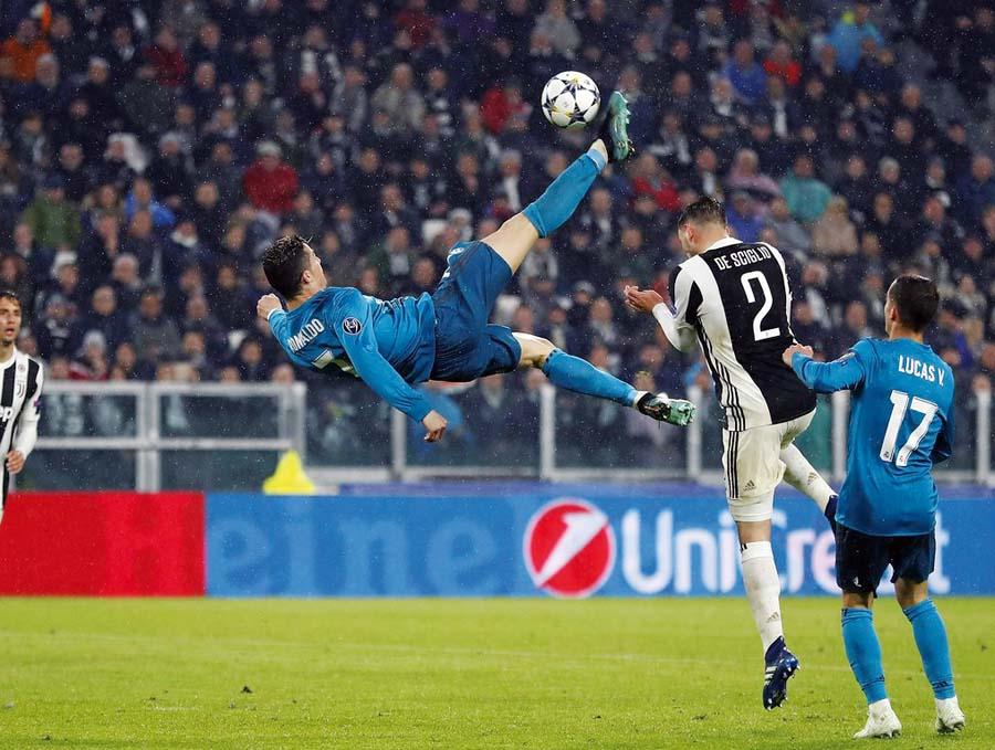 'Chalaca' de Cristiano fue elegida como mejor gol de temporada por la UEFA e hijo de CR7 fichó por la Juventus