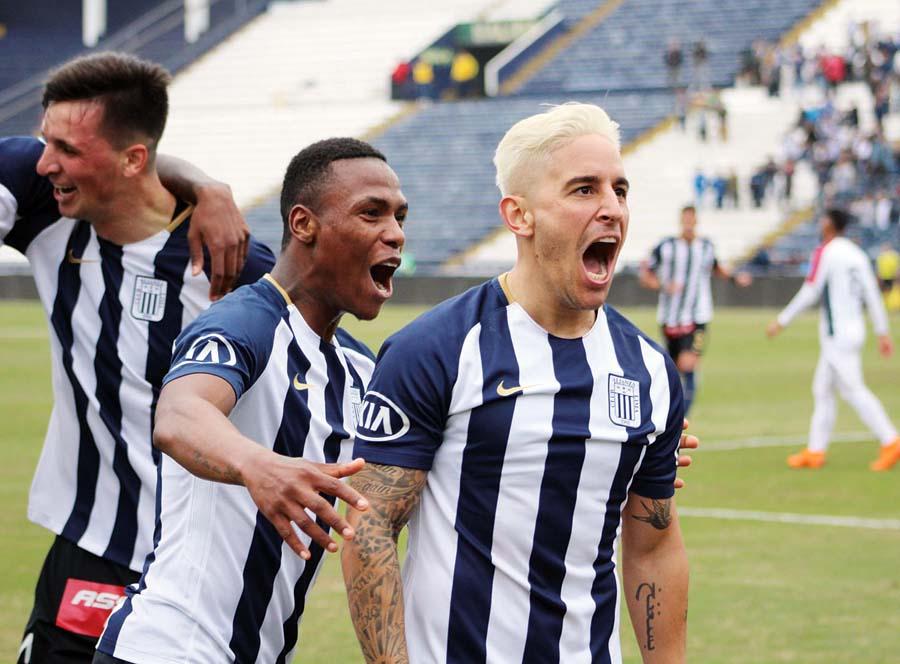 Alianza Lima vencio 3-1 a la San Martín y se ponen a dos puntos de Cristal