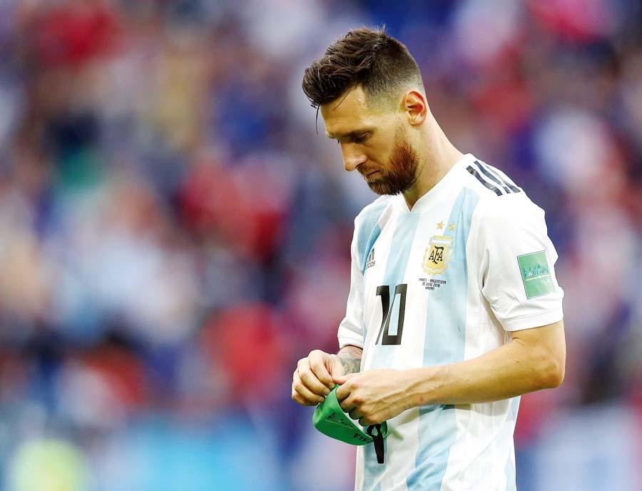 ausencia de Lionel Messi en la selección argentina