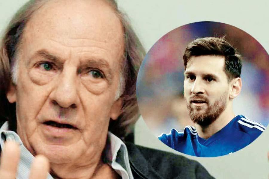 César Luis Menotti, técnico campeón con Argentina en la Copa del Mundo de 1978, rompió su silencio y se refirió a Lionel Messi