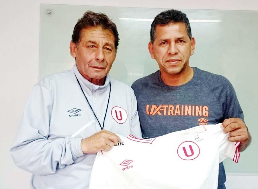 Chale y el 'Puma', dos referentes, dos generaciones de Universitario de deportes