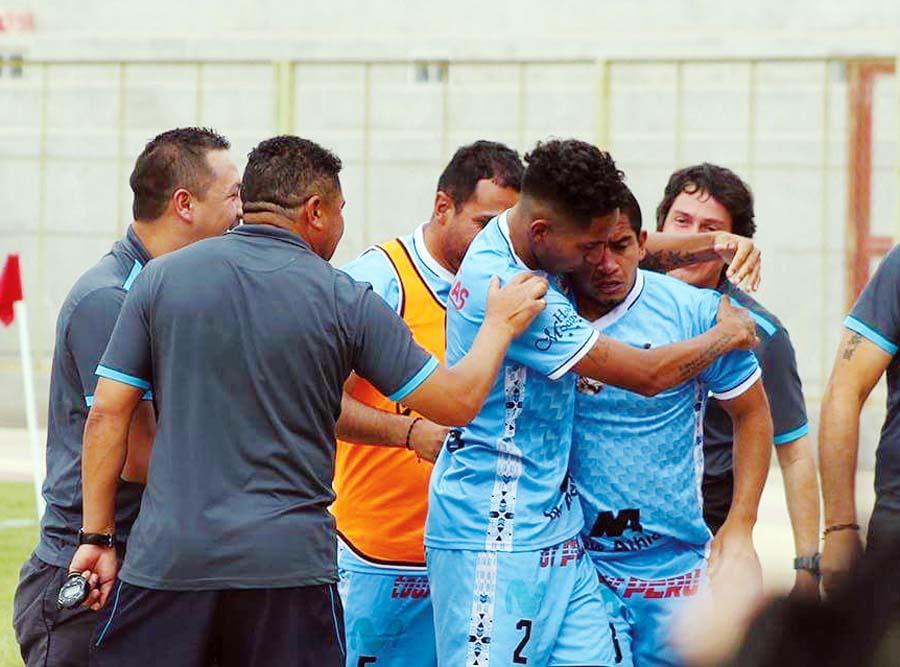 Cotejo fue muy disputado en la ciudad de Moquegua (Deportivo Binacional vs Unión Comercio)