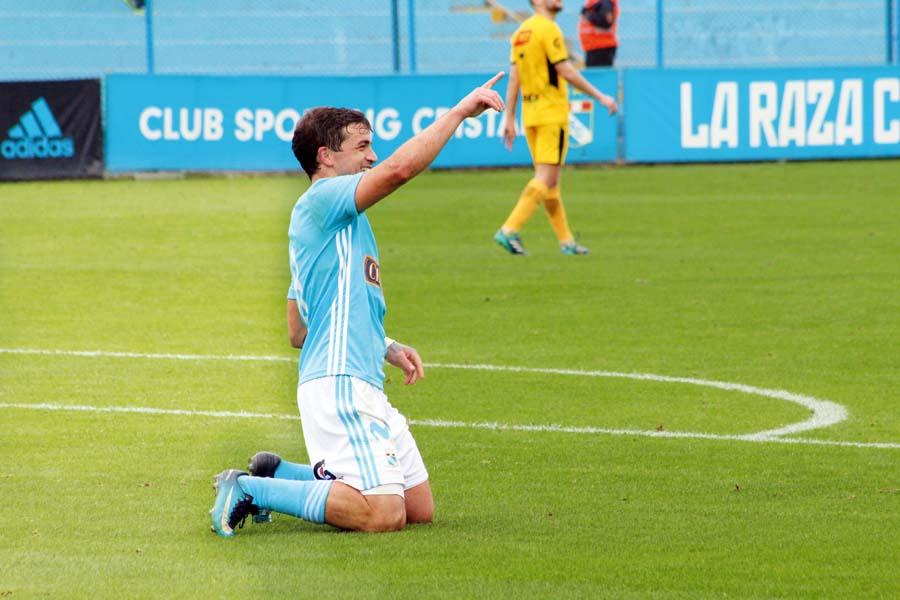 El 'Gaby' Costa reapareció con un doblete frente a Cantolao