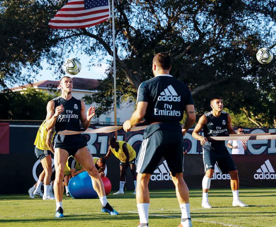 Juventus y Real Madrid chocan hoy en Estados Unidos